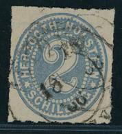 Schleswig Holstein Michel Nummer 16 Gestempelt - Schleswig-Holstein