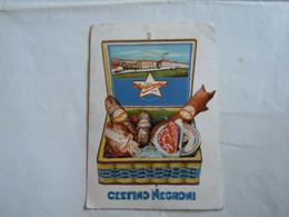 C.P.A. \P.C \.Ak  Cartolina Pubblicitaria CESTINO NEGRONI PIETRO NEGRONI CREMONA 1937 - Advertising