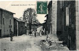 87. HAUTE-VIENNE - PEYRILHAC. Rue Neuve. - Other Municipalities