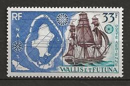 WALLIS ET FUTUNA 1955/60 .Poste Aérienne  N° 17 . Neuf * (MH) - Unused Stamps