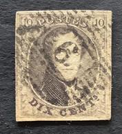 Medaillon OBP 6 - 10c Gestempeld  P6 BLANKENBERGHE - 1851-1857 Medallions (6/8)