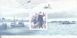 2020 Norway WWII King Escape UK Flags Military Ships  Souvenir Sheet  MNH @ Below Face Value - Ungebraucht
