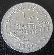 Syrie - Monnaie 1/2 Piastre 1921 - SUP - Syria