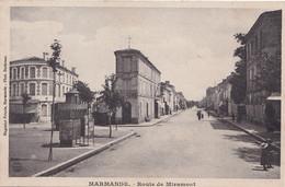 J18-47) MARMANDE - ROUTE DE MIRAMONT( VESPASIENNE )  - 2 SCANS ) - Marmande