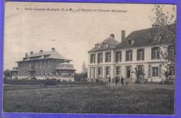 Carte Postale 77. Brie Comte Robert  Hôpital Et Hospice Beauverger   Très Beau Plan - Brie Comte Robert