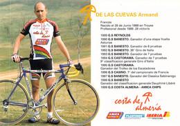 CYCLISME: CYCLISTE :  ARMAND DE LAS CUEVAS - Cycling