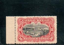CONGO BELGE 1910 ** - 1894-1923 Mols: Nuevos