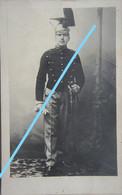 Photo ABL Pre 1914 LANCIER Lansier Cavalerie Belgische Leger Armée Belge - Oorlog, Militair