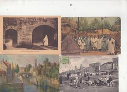 LOT DE 201 CP ETRANGERES - 151 CPSM - 50 CPA - 37 PAYS - SUISSE - ITALIE - LUXEMBOURG - BELGIQUE - ALGERIE.............. - 100 - 499 Postcards