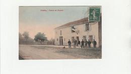 CPA COULEUR:CHAMBLEY (54) DOUANIRES CASERNE DES DOUANES..ÉCRITE - Other Municipalities