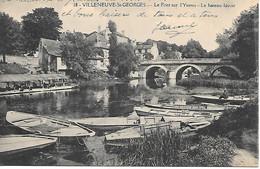 A/399           94       Villeneuve Saint-georges                Le Bateau Lavoir - Le Pont Sur L'yerres - Villeneuve Saint Georges