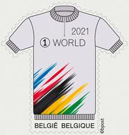 België  2021 ** In Het Wiel Van De Belgen - Dans La Roue Des Belges - - Unused Stamps
