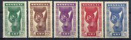 Sénégal         144/148 ** - Unused Stamps