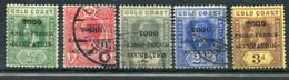 Togo          72/76   Oblitérés Et * Occupation Franco-anglaise - Oblitérés
