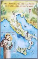 Foglietto ** Vaticano 2021 Cammino Sant'Antonio Da Padova MNH - Unused Stamps