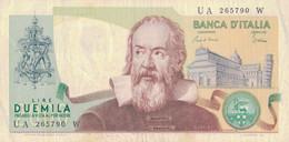 K25 - ITALIE - Billet De 2000 LIRE - Année 1973 - Galilé - 2000 Lire
