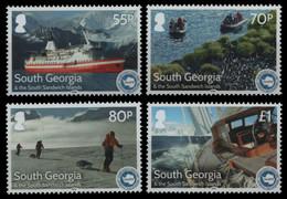 Süd-Georgien 2016 - Mi-Nr. 674-677 ** - MNH - Schiffe / Ships - Zuid-Georgia