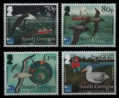 Süd-Georgien 2017 - Mi-Nr. 690-693 ** - MNH - Vögel / Birds - Zuid-Georgia