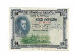 ESPAGNE 100 PESETAS FELIPE II 1925 - 100 Pesetas