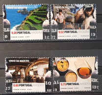 2006 - Portugal - MNH As Scan - Wines Of Madeira - 4 Stamps - Unused Stamps