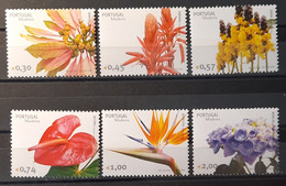 2006 - Portugal - MNH As Scan - Flowers Of Madeira - 6 Stamps - Unused Stamps