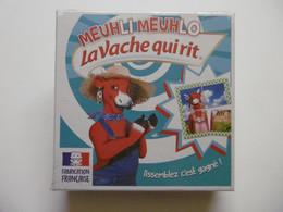 """LA VACHE QUI RIT """"MEUHLI MEUHLO"""" Boite De Jeux Puzzles Sur 32 Cartons - Puzzles"""