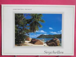 Visuel Pas Très Courant - Seychelles - Anse Boudin - Praslin - Joli Timbre - R/verso - Seychelles