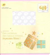 """Enveloppe Entier  Phil@poste  """" Des Cadeaux, Des Beaux Timbres... Joyeuses Fêtes ! """". Novembre 2018. - Pseudo-officiële  Postwaardestukken"""