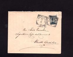 ITALIA - 1911  -  CAVRIAGO   Francobollo N° 96 - Marcophilie