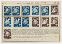 's Hertogenbosch 1942 - Luistervergunning Voor Het Jaar 1942 - Fiscaux