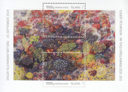 2019 Iceland Nature Day Environment Souvenir Sheet MNH - Unused Stamps
