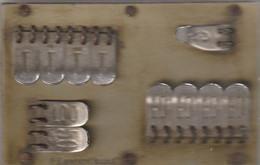 COMPTEUSE POINTS POUR JEUX DE CARTES . BREVETE S.G.D.G. .BOIS LAITON  54 Gr    8 Cm Sur 5 Cm . - Non Classificati