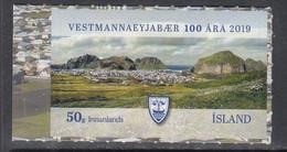 2019 Iceland Anniversary Of Vestmannaeyjar Complete Set Of 1 MNH @ BELOW Face Value - Unused Stamps