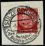 DR 1939,Michel# 519 O Mit Schönem Sonderstempel Sulzbach - Gebruikt