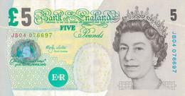 K25 - ROYAUME UNI - GRANDE-BRETAGNE - Billet De CINQ LIVRE - FIVE POUND - 1 Pound