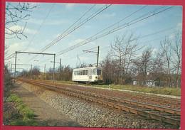 """C.P.  Rixensart  =  TRAM  Motrice  """" S """"  Ligne W Bruxelles -  Waterloo -  Wavre - Rixensart"""