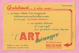 BUVARD - ART MENAGER - PLACE TURENNE - MALO LES BAINS Près DUNKERQUE - - A