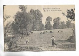 21 -  ETROCHEY ( Côte-d' Or ) - Pré De La Fontaine Barbe - Other Municipalities