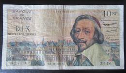 France - Billet 10 Nouveaux Francs Richelieu 1-12-1960 - Z.148 - 10 NF 1959-1963 ''Richelieu''