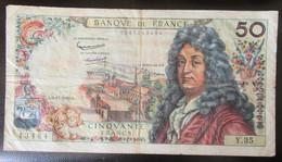 France - Billet 50 Francs Racine 6-12-1962 - Y.35 - 50 F 1962-1976 ''Racine''