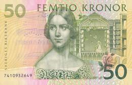K26 - SUÈDE - Billet De 50 KRONOR - Jenny Lind - Suède