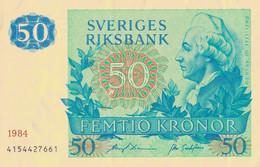 K26 - SUÈDE - Billet De 50 KRONOR - Gustav III - Année 1984 - Suède