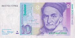 K26 - ALLEMAGNE - Billet De 10 Deutsche Mark - Année 1991 - 10 Mark