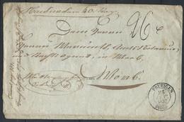 FZ-/-032. ZUMSTEIN - PRECURSEUR 1837, OBL. FRUTIGEN,  VOIR IMAGES POUR DETAILS, IMAGE DU VERSO SUR DEMANDE, - ...-1845 Prephilately