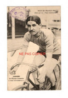 """CYCLISME- Tour De FRANCE 1914-LUGUET De L'équipe AUTOMOTO-""""PNEU CONTINENTAL""""- Cachet GENIE-CHEFFERIE De CHERBOURG - Ciclismo"""