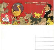 FRANCE. Gédéon (bande Dessinée) Dessin «La Vache Qui Rit» Benjamin Rabier, Carte-maximum (souvenir Philatélique) No PJ - Comics