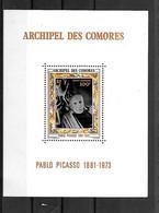 BLOC NEUF DES COMORES DE 1973 N° MICHEL 1 - Comoros