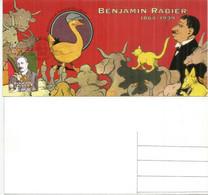 FRANCE. Gédéon (bande Dessinée) Dessin «La Vache Qui Rit» Benjamin Rabier, Carte-maximum (souvenir Philatélique) No PJ - 2010-...