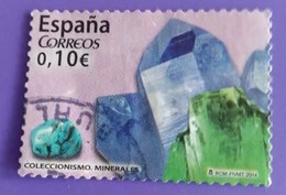 ESPAGNE SPANIEN SPAIN ESPAÑA 2014 FROM CARNET COLLECTING COLECCIONISMO USED ED 4858 MI 4857 YT 4562 SC 3958D SG 4835 - 2011-... Afgestempeld