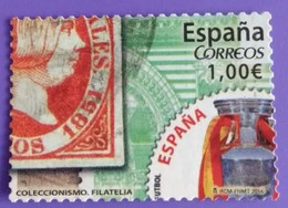 ESPAGNE SPANIEN SPAIN ESPAÑA 2014 FROM CARNET COLLECTING COLECCIONISMO USED ED 4862 MI 4861 YT 4566 SC 3958H SG 4839 - 2011-... Afgestempeld